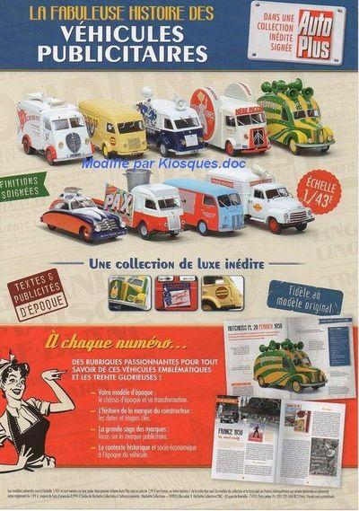 Collection La fabuleuse histoire des véhicules publicitaires