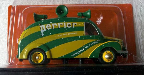 Hotchkiss PL20 Perrier Tour de France 1950 miniature Auto Plus Hachette Ixo