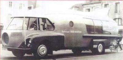 Citroen 55 1957 fusée Teleavia version 2 Perfex 204