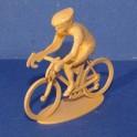Cycliste position Rouleur - Non peint