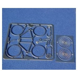 1/43 Bike etched metal