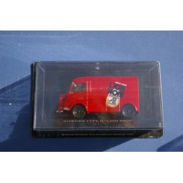 Citroen Type H Waxing Lion Noir