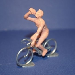 Plastic cyclist & Die-cast bike - Drinker