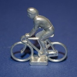 Small die-cast cyclist - Rider
