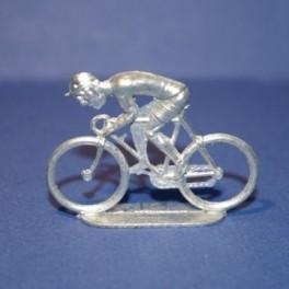 Flat die-cast cyclist - Rider