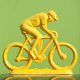 Cycling figure 23 cm (9.5'') different colors