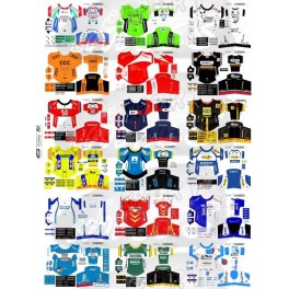 Maillots Equipes Continentales Pro 2014