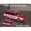 Skoda SuperbCombi Team Lotto Belisol 2014 Season
