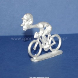 "Die-cast cyclist ""big head"" straight neck - Unpainted"