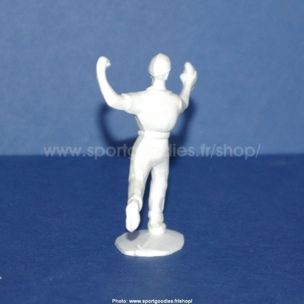 unpainted plastic supply assistance figure for salza cars