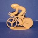Cycliste position contre-la-montre - Non peint