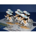 2015 - Set of 6 cyclists Time trial position - Select your team