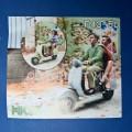 Jeunes à Scooter - Non peint - Ech 1/43