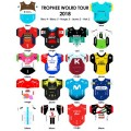 World Tour 2018  team jerseys stickers