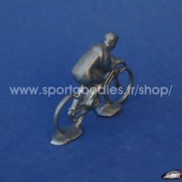 Cycliste 1/43 type Minialuxe en Zamac