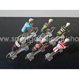 Lot de 6 cyclistes Cofalu Cyclo-cross 2018-2019