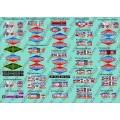 Plaques TDF Coll. Hachette véhicules publicitaires - N°20 à 46