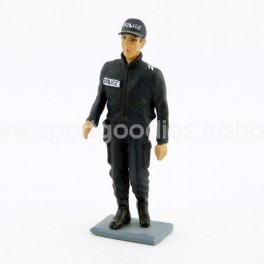 French Policeman wearing jacket from 00's - Scale 1/32