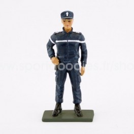 French Gendarme Woman- New uniform - Scale 1/32