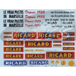 Decals Ricard 1/43