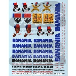 Decals Banania 1/43