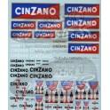 Decalcomanies Cinzano 1/43