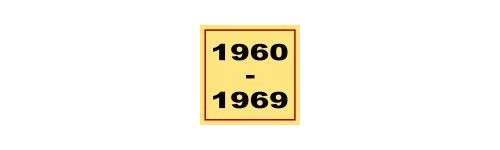 Equipes 1960-1969