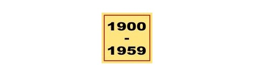 Equipes 1900-1959