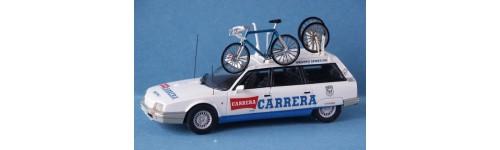 Cycling Team cars