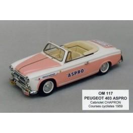 Peugeot 403 Cabriolet Aspro 1957 (Kit unassembled)