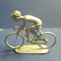 "Die-cast cyclist ""big nose"" - Unpainted"