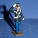 French Gendarme  - Scale 1/32- 60's & 70's Uniform - saluting