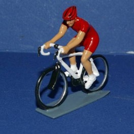 Red jersey cyclist - Years 2000