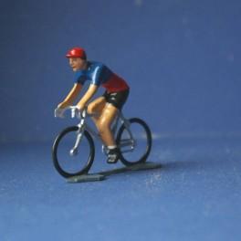 Paris town team cyclist