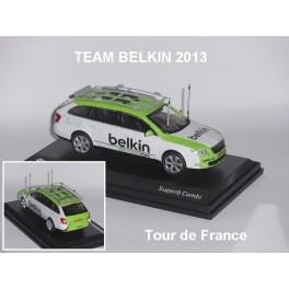 Skoda Superb Combi Team Belkin 2013
