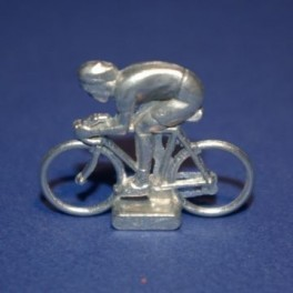 Small die-cast cyclist - Sprinter