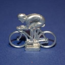 Small die-cast cyclist - Sprinter
