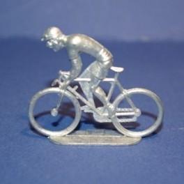 Flat die-cast cyclist - Climber