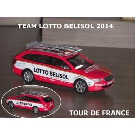 Skoda SuperbCombi Team Lotto Belisol 2014 Season