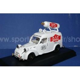 FIAT 1100 van BPD Caravan Giro 1951