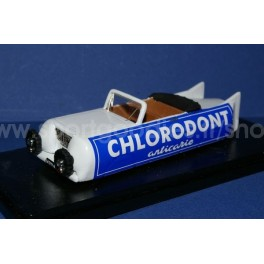 Auto tube Cholorodont Caravan Giro 1952