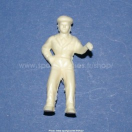 Unpainted plastic driver figure for Salza cars - Type Salza- 1/32 Scale