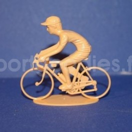 Cyclist retro rider position - Unpainted