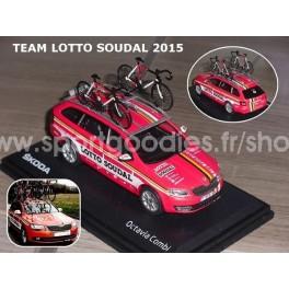 Skoda Octavia Combi III Team Lotto Soudal 2015 Season