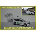 Skoda Superb Combi Fan Tour de France 2014