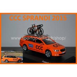 Skoda Superb Combi Team CCC Sprandi 2015