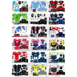 World Tour 2016  team jerseys