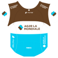 2018 - 3 Stickers for Echappée Infernale Cyclists