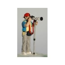 Photographer 2 - Unpainted -Scale 1/43