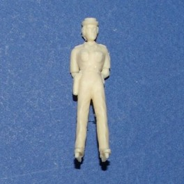 French Woman Gendarme arms at back - Unpainted -Scale 1/43